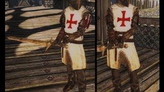Обзор мода Skyrim #6 - Templar Armor Set