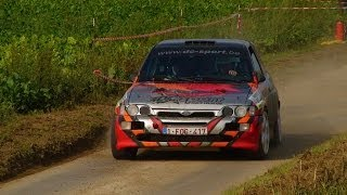 preview picture of video 'Rallye de Hannut 2014 on board DEPREAY- MONJOIE escort cosworth grA es 4 cilpet'