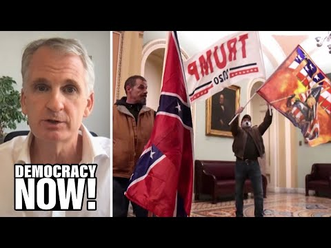 """""""American Abyss"""": Fascism Historian Tim Snyder on Trump's Coup Attempt, Impeachment & What's Next"""