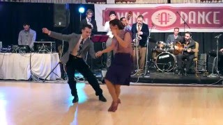 SAD 2016 - William & Maéva with the Hot Sugar Band