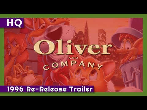 Oliver & Company Movie Trailer