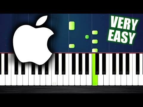 Iphone Ringtone but it's VERY EASY Piano Tutorial by PlutaX