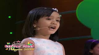 Little Miss Philippines 2019 - Introduction and Talent | July 13, 2019