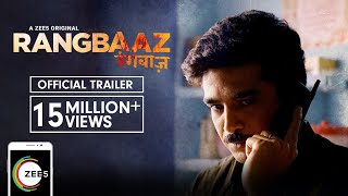 Rangbaaz | Official Trailer | A ZEE5 Original | Saqib Saleem | Streaming Now On ZEE5