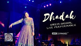 Dhadak Title Track | Shreya Ghoshal LIVE Performance
