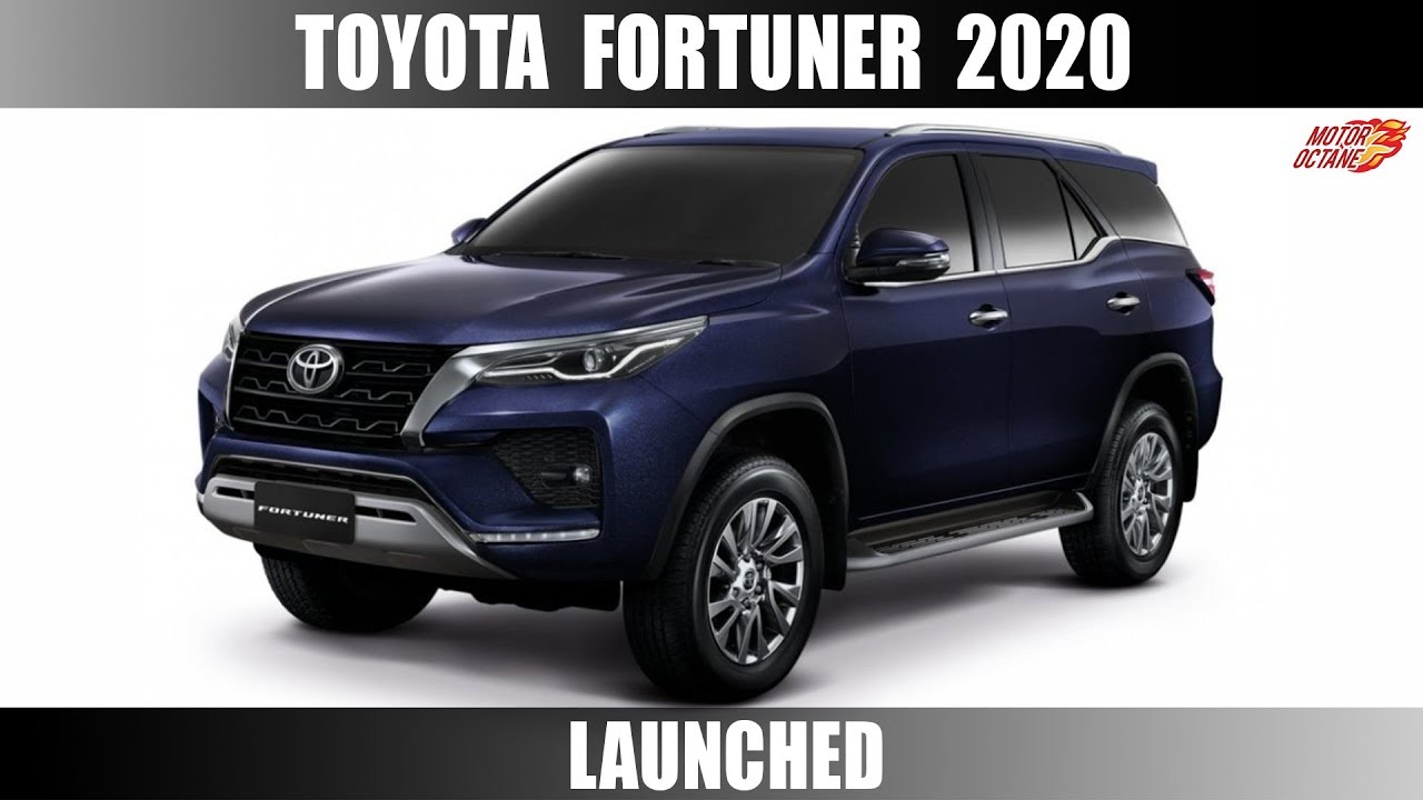 Motoroctane Youtube Video - Toyota Fortuner 2020 Launched