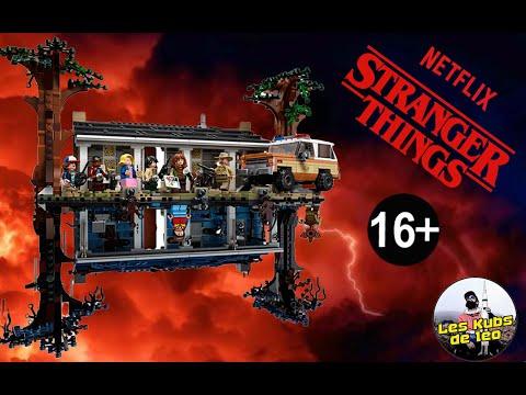 Vidéo LEGO Stranger Things 75810 : La maison dans le monde à l'envers