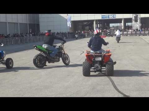 Stunt Bike Riding Quad Moto Stuntman Show  - Motodays Video