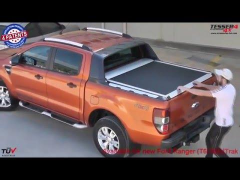 Ford Ranger (Wildtrak) 2012+ aluminium rollo (Abdeckung)