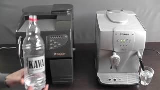 Чистка кофемашины. Накипь в Saeco, Delonghi, Bosch. - YouTube