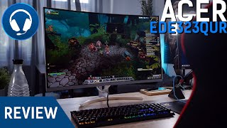 "Acer ED323QUR 32"" WQHD Gaming Monitor Review - DEIN HYBRID FÜR OFFICE UND GAMING"