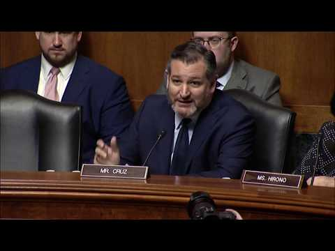 Sen. Cruz Delivers Introductory Remarks as Chairman of Big Tech Censorship Judiciary Hearing