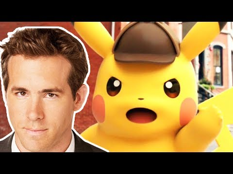 Ryan Reynolds as Detective Pikachu!