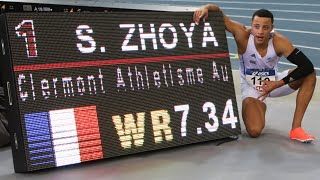 Miramas 2020 : Record du monde juniors du 60 m haies de Sasha Zhoya en 7''34 (U20 World Record) !