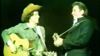 Arlo Guthrie & Johnny Cash - Alice's Restaurant