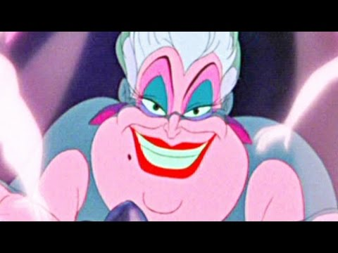 the little mermaid poor unfortunate souls disney sing al