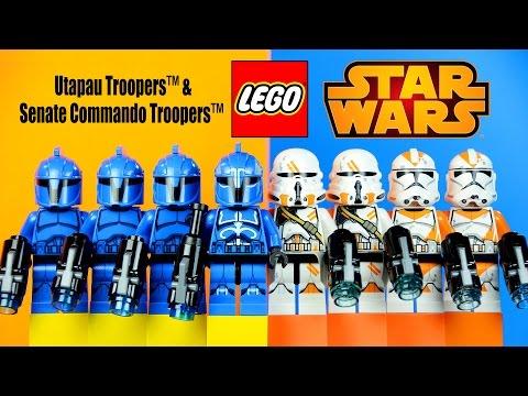 Vidéo LEGO Star Wars 75036 : Utapau Troopers