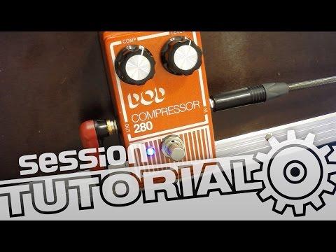 session Tutorial: Kompressor für E-Gitarre richtig einsetzen