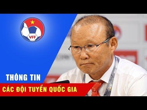 HLV Park Hang Seo tỏ ra bình thản với chiến thắng trước U23 Myanmar tại M-150 Cup
