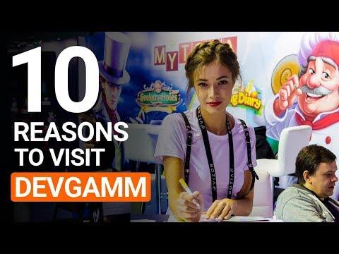 10 reasons to visit DevGAMM