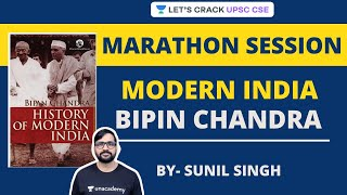 Modern India NCERT: Bipin Chandra Ultimate Marathon | Crack UPSC CSE/IAS | Sunil Singh - Download this Video in MP3, M4A, WEBM, MP4, 3GP