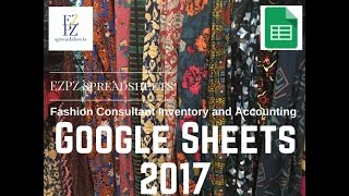 EZPZ Spreadsheets - Google Sheets - LuLaRoe Inventory and Accounting