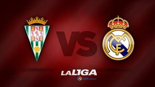 Cordoba 1-2 Real Madrid | Full Match Partido Completo | 24/01/2015