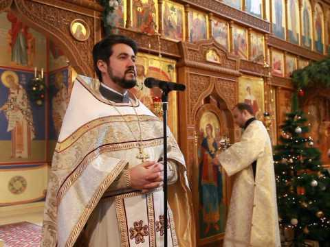 Утренняя Рождественская проповедь