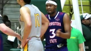 Northwestern State 85, Southeastern 71 (Highlights) - Devonte Hall scores 28, Jordan Bell 18 & 12