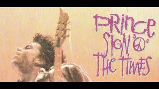 SIGN O THE TIMES  Prince Demo Cover Lyric Video