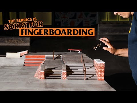 The Berrics Is Sorry (For Fingerboarding)