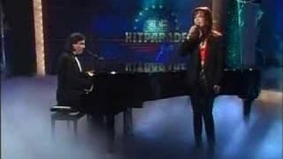 Andrea Bocelli & Judy Weiss - Vivo per lei (very rare video)