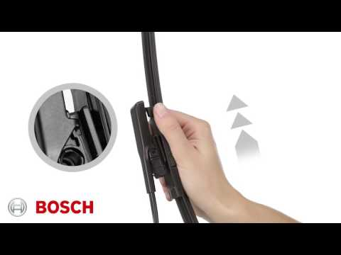 How to Fit Bosch A314S Wiper Blade Set