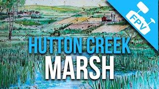 Hutton Creek Marsh At Motts Mills, Ontario by FPV Drone