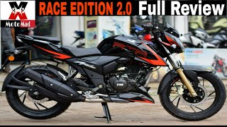 RTR 200 Race Edition 2.0|Slipper Clutch|ABS|First Ride Review|MotoMad