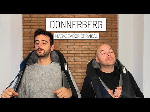Masajeador cervical Donnerberg. Te cambiará la vida.