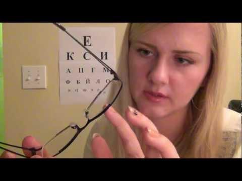 ~O~O~Визит к Окулисту на русском/Relaxing Russian Eye Doctor with 3D mic~O~O~