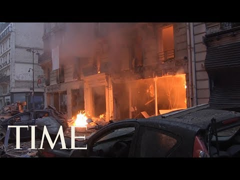2 Firefighters Killed And 47 People Injured In Paris Bakery Explosion | TIME
