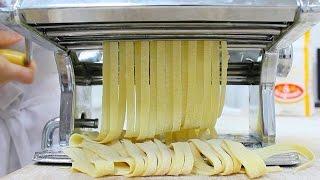 Тесто для пасты - Фетучини, Лазанья, Равиолли / Homemade Pasta