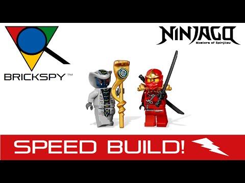 Vidéo LEGO Ninjago 9441 : La moto de Kai