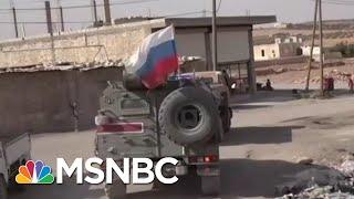 Trump Helps Putin Tick Through Russia's World Affairs Wish List | Rachel Maddow | MSNBC