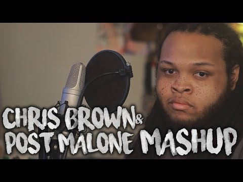 Chris Brown & Post Malone ~ Undecided & Sunflower MASHUP (Cover feat. Slobings)
