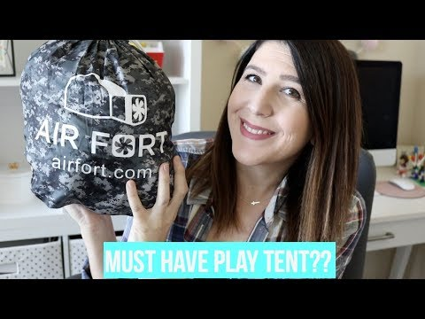 Must have play tent for kids?   Airfort Review!