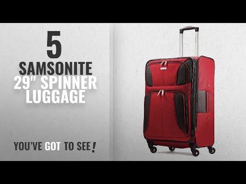 "Top 10 Samsonite 29"" Spinner Luggage [2018]: Samsonite Aspire Xlite Expandable Spinner 29, Red"
