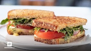 Chef Robert Irvine's Tomato and Fresh Aioli Sandwich
