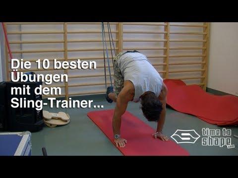 Die 10 besten Übungen mit dem Sling-Trainer...