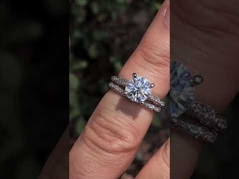 enr190-F1 w/Matching Diamond Band