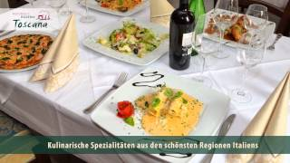 preview picture of video 'Ristorante Pizzeria Toscana Waghäusel-Kirrlach Firmenclip'