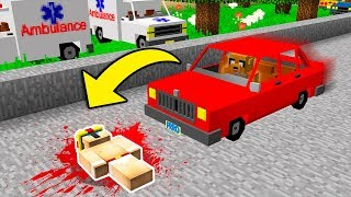 ELTROLLINO FUE ATROPELLADO!!! 😱 MINECRAFT