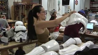 501st Legion Star Garrison Armor Build at Dallas Makerspace
